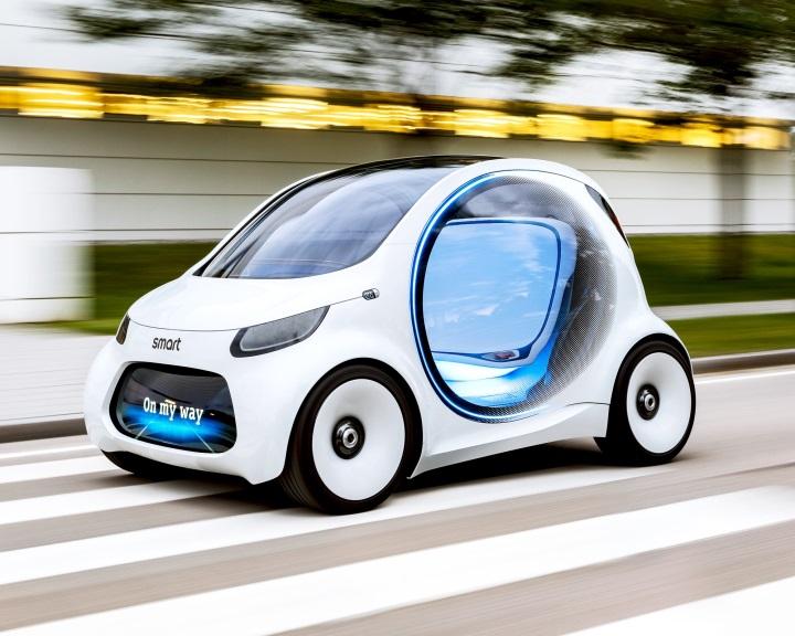Robotautót mutatott be a Daimler