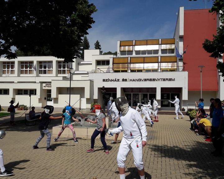 Százak népszerűsítették a sportágat a vívás világnapján