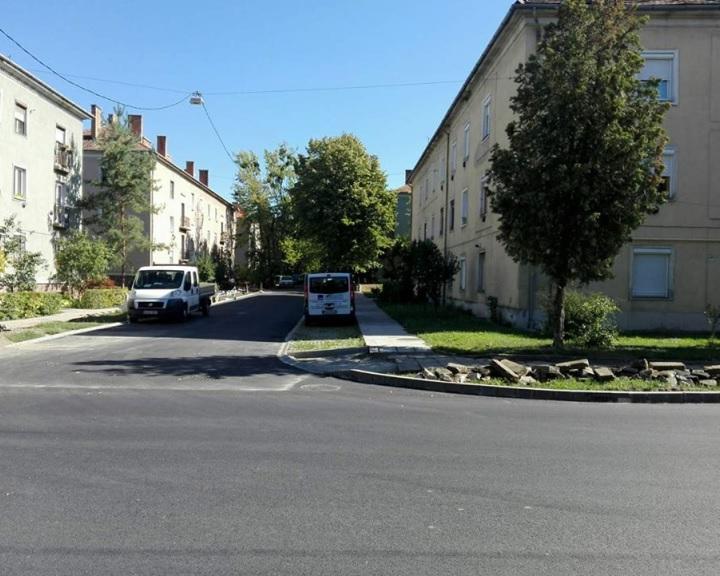 Elkészült a Gorkij utca Komlón