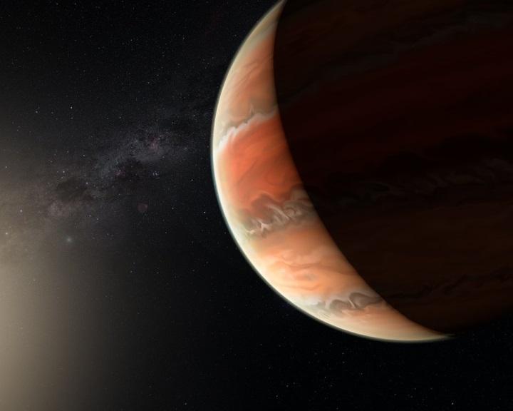 Először detektáltak titán-oxidot egy exobolygó légkörében