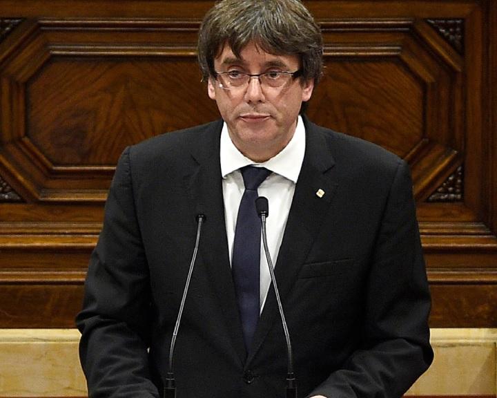 Katalán elnök: Katalónia elnyerte a jogot, hogy független legyen
