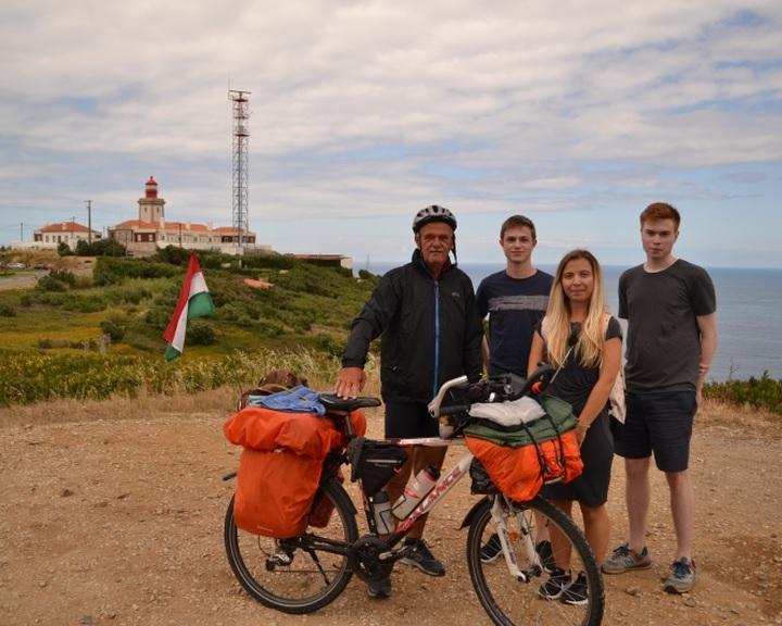 Élménybeszámolót tart a világjáró kerékpáros