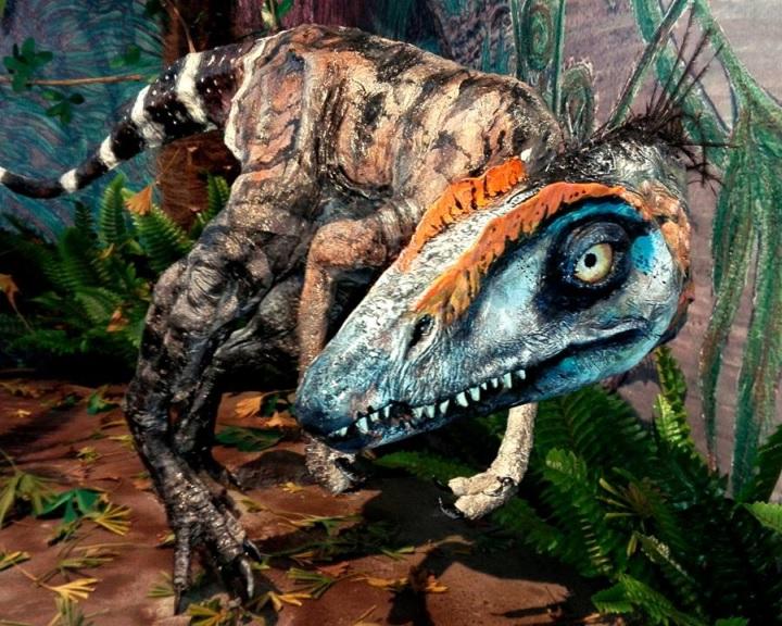 A Komlosaurus leleteiből és ásványokból nyílt tárlat Komlón