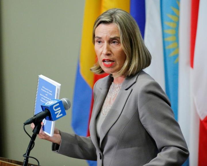 Mogherini: egyetlen ország sem mondhatja fel az iráni nukleáris megállapodást