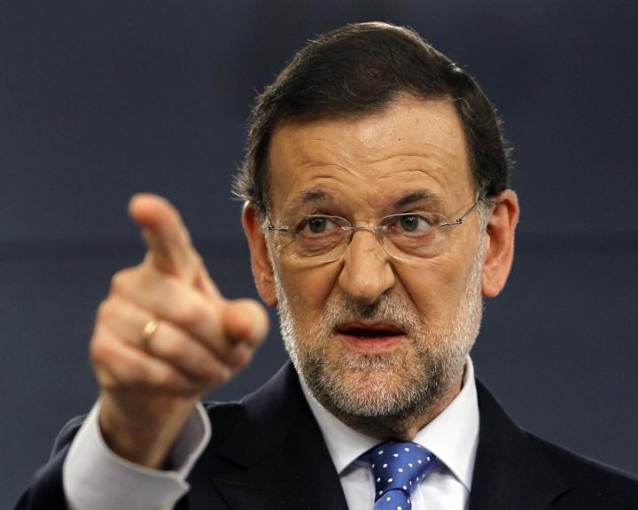 Rajoy: elértünk egy határig, amely cselekvésre kötelezi a kormányt