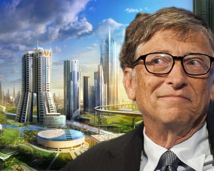 Bill Gates okosvárost épít a sivatagban