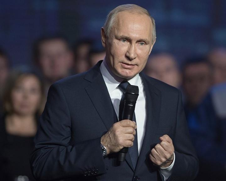 Putyin: az Iszlám Államot teljesen szétverték az Eufrátesz jobb és bal partján