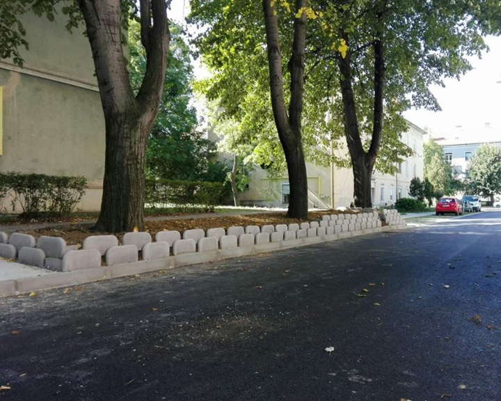 Felújított utcák Komlón