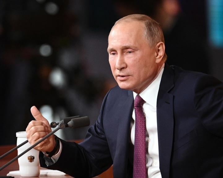 Putyin agresszívnak minősítette az új amerikai nemzetbiztonsági stratégiát