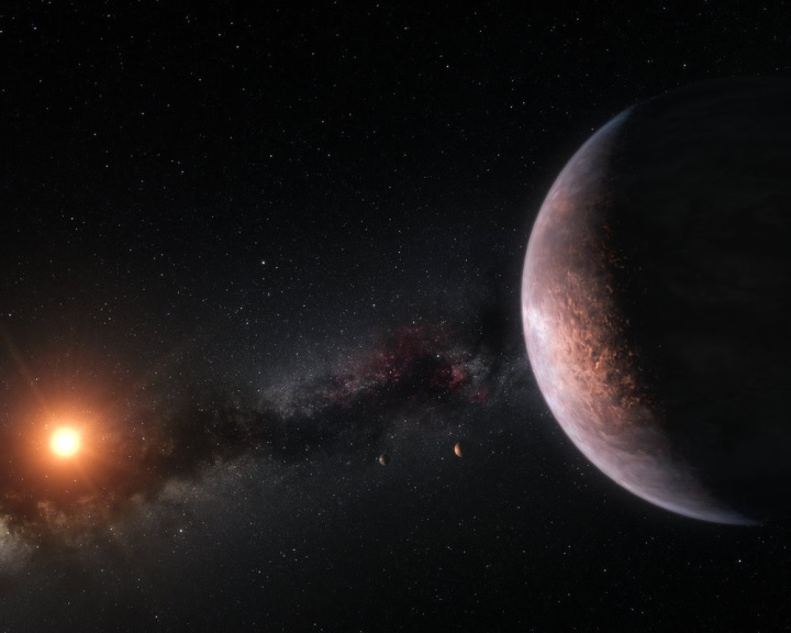 Sok víz lehet a TRAPPIST–1 bolygóin