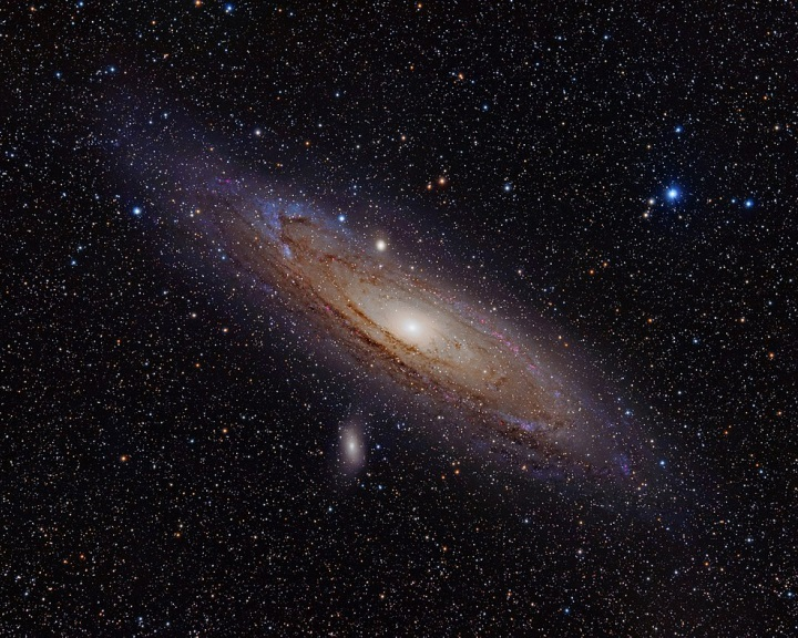 Csillagrendszerek nemrég bekövetkezett összeütközéséből jött létre az Androméda galaxis