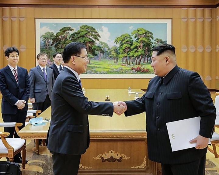 Trump üdvözölte a két Korea vezetőjének tervezett csúcstalálkozóját