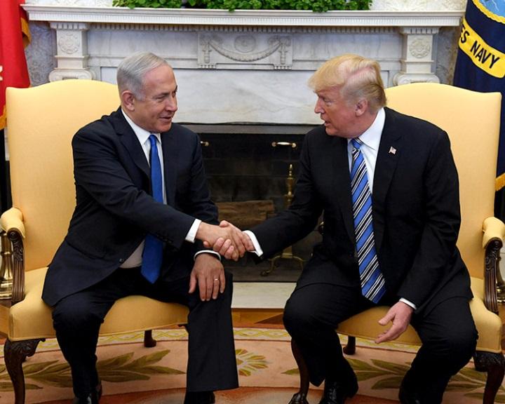 Netanjahu Iránról és a palesztinokról tárgyalt Donald Trump elnökkel