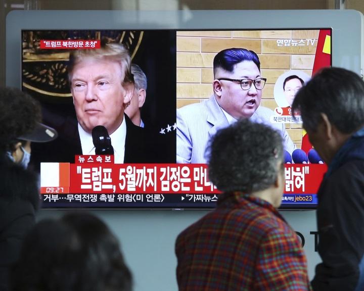 Trump májusban találkozik Kim Dzsong Un észak-koreai vezetővel