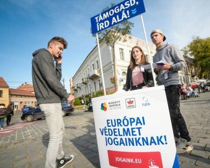 Több mint 1,2 millióan írták alá az európai kisebbségvédelmi kezdeményezést
