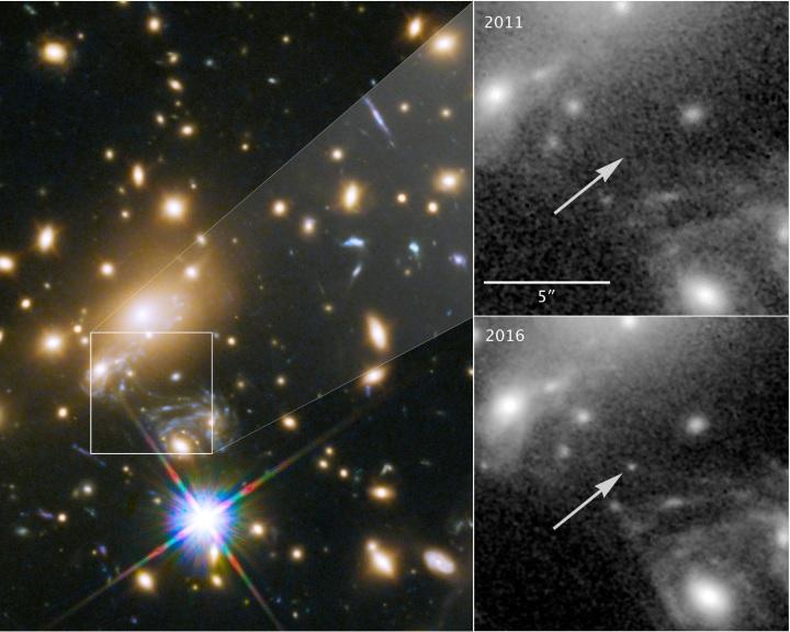 Rekordtávolságban figyeltek meg egyedi csillagot