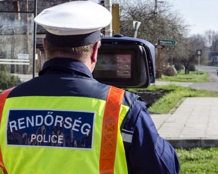 Speedmarathon 2018. - Holnap elárasztják az utakat a rendőrök