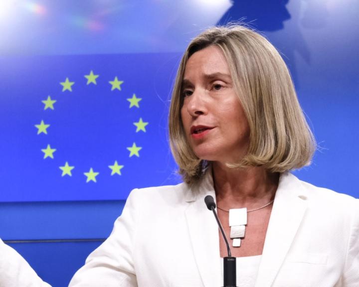 Mogherini: Európa gyors megoldást akar az iráni atomalku védelme érdekében