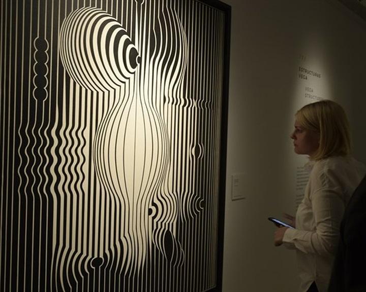 A madridi életmű-kiállítással kezdődik Vasarely európai újrafelfedezése
