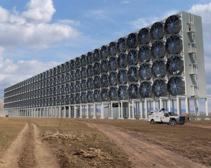 Sokkal olcsóbban lehet a szén-dioxidot kivonni a levegőből egy új technológiával