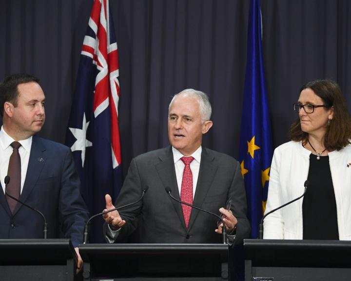 Szabadkereskedelmi tárgyalások Ausztrália és az EU között