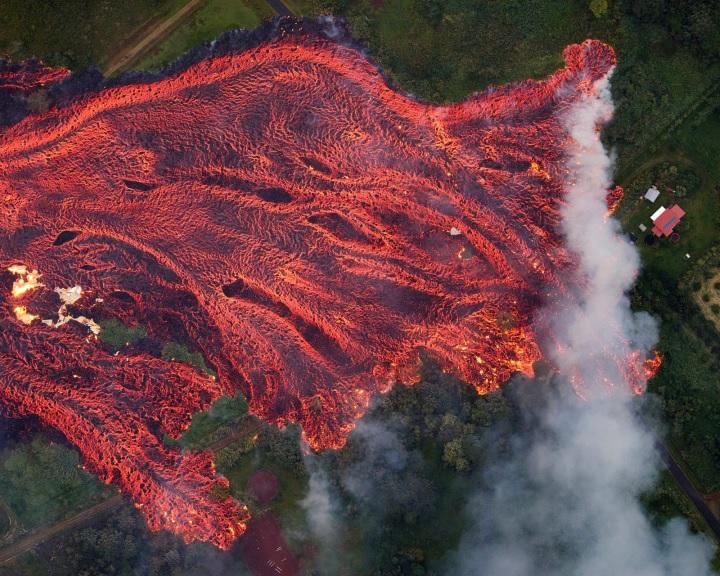 Egész ökoszisztémák semmisültek meg a Kilauea vulkán kitörése miatt
