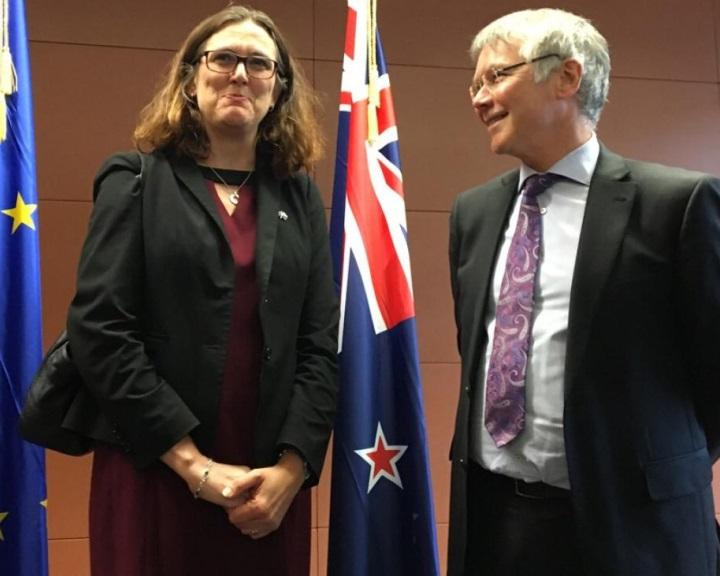 Szabadkereskedelmi tárgyalások Új-Zéland és az Európai Unió között