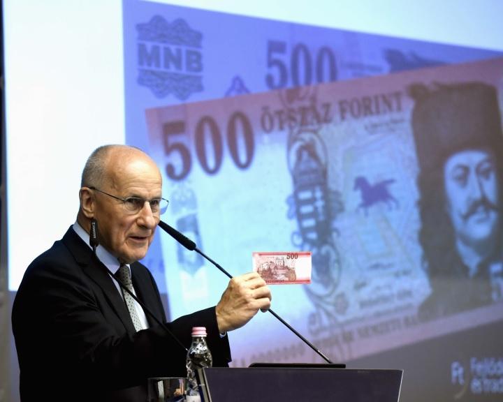 MNB: megújul az 500 forintos, lezárásához közeledik a bankjegyek cseréje