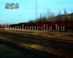 Sztrájk a vasútnál