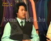 A Yang Yin áruházról és Kínáról beszél az áruház  tulajdonosa