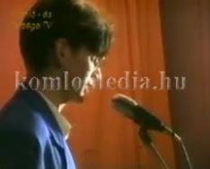 Hervai Mihály fellépése a Kossuth Klubban