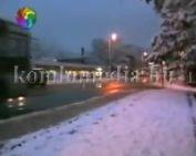 A téli belváros - etűd