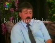 Politikusok a szinpadon Dr. Toller László, Páva Zoltán, Szarka Elemér - Boszi Zsuzsi jósol