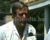 A helyi televízióról két képviselő (Dr. Tánczos Frigyes, Dr. Kiss Huba)
