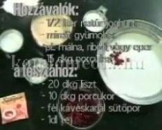 Indiai recept - Malpura
