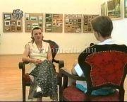 Janiga Eszter festménykiállítása a múzeumban