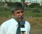 A Mecsekfalu-i út mellett elkezdődött a kerékpárút építése (Polics József)