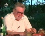 Csurka István a MIÉP elnökével balatonedericsi kúrián beszélgettünk aktuális kérdésekről