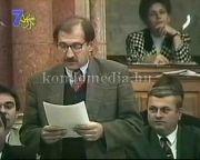 Páva Zoltán felszólalása a parlamentben