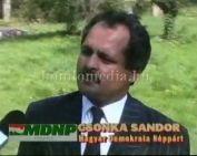 Csonka Sándor (MDNP) véleménye Komlóról