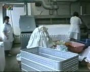 Átadták a kórház új korszerű mosodáját (Dr. Nyirati Ferenc)