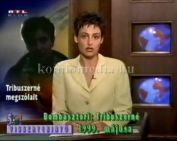 Tribuszerné nyilatkozatára az országos televíziók bejátszásai