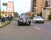 Veterán autók a városban - a Magyar Autóklub szervezésében