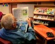 Új helyen a komlói könyvtár (Végh Ildikó)