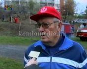 57 facsemetét ültettek a komlói tűzoltók (Adrián Lajos)