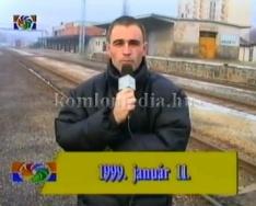 60 órás sztrájk a vasútnál (Bán László)