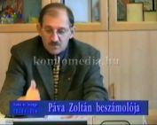 A polgármester 1999. évi beszámolója (Páva Zoltán)