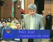 Közmeghallgatás 2000. (Polics József, Németh Mária, Tóth Sándor)