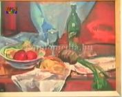 Tímár István festményeiből kiállítás a múzeumban - zenés etűd