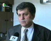 Gógl Árpád egészségügyi miniszter Komlón járt